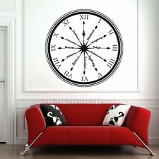 Capital City Clock Countries Rest of the World Wall Sticker Home Decor Art Decal