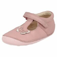 Baby/Toddler Girls Clarks Leather Pre Walker First Cruiser Shoes - Little Wow
