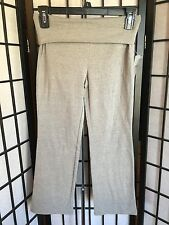 Danskin Now Girl's Solid Grey Yoga Pants W/Roll Down Top NWT