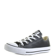 Unisex Converse Con CT Ox Black Low Top Trainers  Size