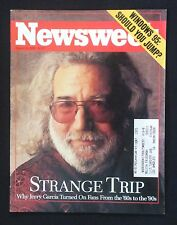 Newsweek August 21, 1995   Jerry Garcia ~ Mickey Mantle obits