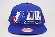 Montreal Expos Retro Look Royal Blue Red White MLB New Era 9Fifty Snapback Hat