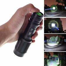 Zoomable 4000LM Cree XML T6 5 Modes Police LED Flashlight Lamp Torch Bright Lamp