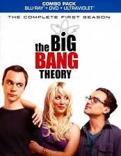 Big Bang Theory - The Complete First Season (Blu-ray Disc, 2012, 5-Disc Set)