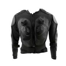 Motorcycle Motocross Full Body Armor Jacket Racing Back Chest Protector - Black