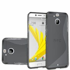 For HTC Bolt HTC10 EVO Case, Slim Solid TPU Cover [Stylus + Screen Protector]