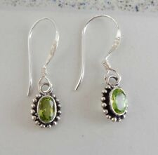 Gemstone Solid Silver, 925 Bali Handcrafted Earring 38692
