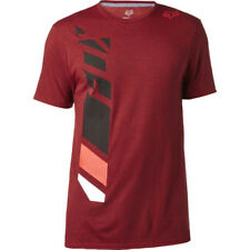Fox Racing Side Seca Tech Mens T-shirt - Heather Red All Sizes