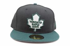 Toronto Maple Leafs Black Green White Maple Leaf NHL New Era 59Fifty Fitted Hat