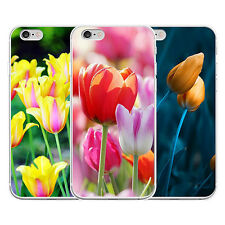 3D TULIPS FLOWER PATTERN PHONE CASE COVER FOR IPHONE 4 SAMSUNG GALAXY S5 ANTIQUE