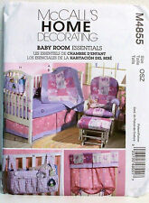 Baby Room Essentials Pattern - Bumpers, Qult Dust Ruffle, Rocker Cover+ NEW
