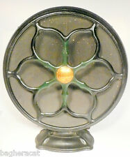"""vintage * green ATWATER-KENT TYPE E2 12"""" SPEAKER: Tested & Working .. w/ cable"""