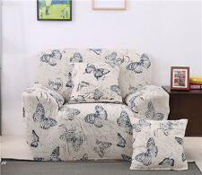 Butterfly Spandex Stretch Fitted Sofa Case Pet Protector for 1 2 3 4 seater L