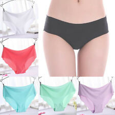 Multi-Color Women's Seamless Soft Polyester Lingerie Briefs Underwear Underpants