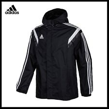 adidas Mens Condivo Rain Jacket Training Sports Football Hooded Track Top XS-XL