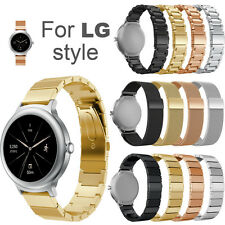 Luxury Chic Stainless Steel Bracelet Smart Watch Band Strap For LG Watch Style