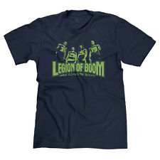 LEGION OF BOOM LOB SEATTLE FOOTBALL FAN SHERMAN 12TH MAN PARODY T-SHIRT TEE