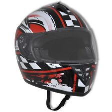 New S/M/L/XL Motor Motorcycle Motorbike Flip-up Helmet Integral Racing Design