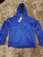 Superdry Wind Cagoule Dual Zip Men's Jacket in Studio Blue - Brand New with Tags
