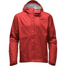 NWT North Face Mens' cardinal red Venture Rain Jacket 2XL