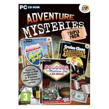 Adventure Mysteries Triple Pack Game PC - Brand new!