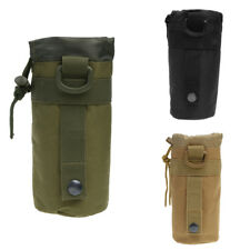 Outdoor Tactical Molle Water Bottle Bag Pouch Backpack Belt Holder