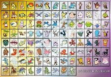 Pokemon picture No.152 - No.251 Pocket monster Jigsaw 1000 pieces Pre-order