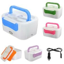 Electric Heated Lunch Box Portable Food Warmer Container Bento Box 12V 5 Color