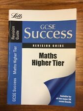 Letts GCSE Success - Maths - Higher Tier: Revision Guide, VARIOUS Paperback Book