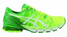 Asics Men's GEL-Kinsei 5 Light Running Shoes with Support - Flash/Yellow/White