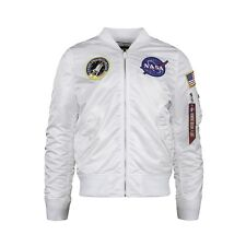 Alpha Industries L-2B NASA Flight Jacket White
