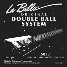 New LaBella Steinberger Double Ball-End Guitar Strings - In Stock! - All Gauges!