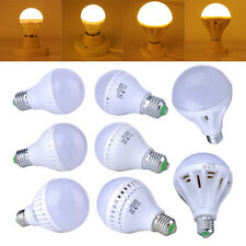 9/12/15/20/25W Watt 110V/220V LED E27 Bulb Lamp Light Energy Saving Warm White