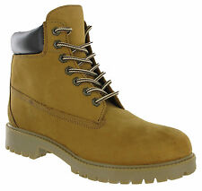 Mens Leather Ankle Walking Hiking Desert Work Fashion Honey Boots