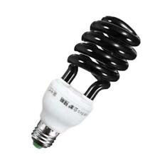 E27 5W-40W 220V Energy Saving Ultraviolet UV Black Stage Sprial Lamp Light Bulb