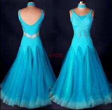2017 Sleeveless Modern Waltz Tango Quickstep Ballroom Dance Dress Party Dress