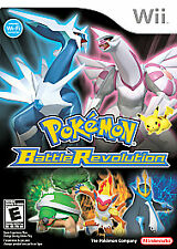 Pokemon Battle Revolution Nintendo Wii Disc & Case Video Game 2007