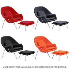 Womb Style Chair and Ottoman Mid Century Modern Lounge Chair Accent Chair Colors
