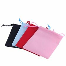 100pcs Gift Bag Jewelry Display 5x7cm Velvet Bag/jewelry Bag/organza Pouch FE