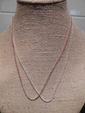 "Authentic Origami Owl 24-26"" 2mm Rolo Chain Necklace - NEW"
