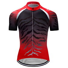 2017 New Mens Riding Apparel Cycling Short Sleeve Tops Jerseys Bike Sports Wear