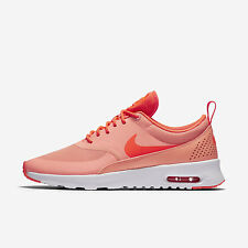 WMNS Nike Air Max Thea [599409-608] NSW Casual Atomic Pink/Total Crimson