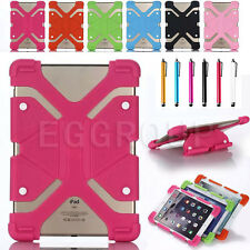 "US For 10"" 10.1"" inch Tablet Universal Adjustable Case Shockproof Silicone Cover"