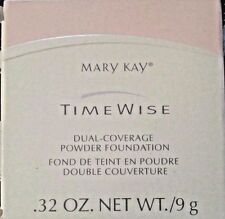 Mary Kay Time Wise Dual Coverage Powder Foundation IVORY 100 or BRONZE 708 .32oz