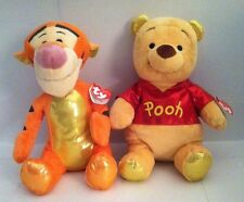 """Ty's Disney Sparkle """"TIGGER"""" and """"WINNIE THE POOH"""""""