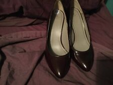 Radley Brown Patent Leather Shoes Size 6