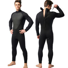3mm Neoprene Men Wetsuit Stretch Back-Zip Warm Wet Suit Scuba Surf Diving S-2XL