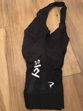 Rapha Team sky Pro Cycling Summer Black Bib Shorts Large BRAND NEW