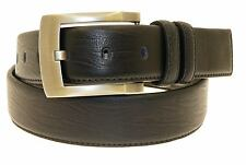 Mens Genuine Black Leather Belt In Gift Box - All Sizes