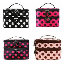 Travel Make Up Organizer Bag Cosmetic Brush Case Storage Toiletry Case Bag Pouch